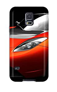 Faddish Phone Tesla Roadster Sports Car Case For Galaxy S5 / Perfect Case Cover