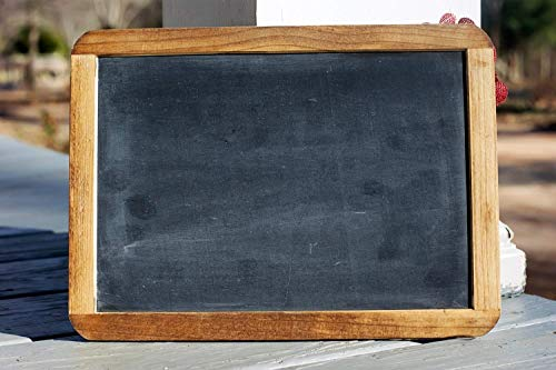 (Chalkboard - Back to School Chalkboard Sign - Chalkboard Photo Prop - Rustic Wedding Decor - Holiday Pictures - Photography Prop - Real Slate Chalkboards)
