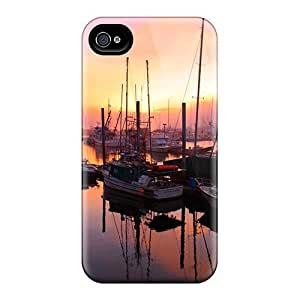 Tpu ConnieJCole Shockproof Scratcheproof Port Hard Case Cover For Iphone 4/4s