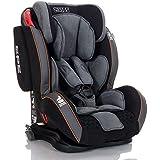 Seggiolino Auto GT Isofix 9-36 kg LCP Kids bambini Gruppo 1 2 3, Colore Nero