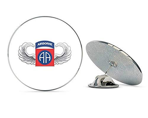 "Veteran Pins US Army 82nd Airborne Jump Wings Metal 0.75"" Lapel Hat Pin Tie Tack Pinback"