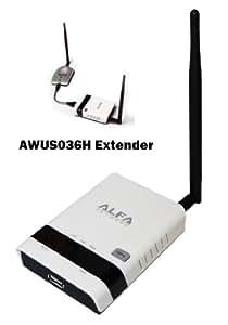 Alfa R36 Network repeater Negro ampliador de red - Repetidor de red (Network repeater, 150 Mbit/s, 10/100Base-T(X), IEEE 802.11g,IEEE 802.11n,IEEE 802.3,IEEE 802.3u, 802.11g,802.11n, WEP,WPA,WPA2,WPA2-PSK,WPS)
