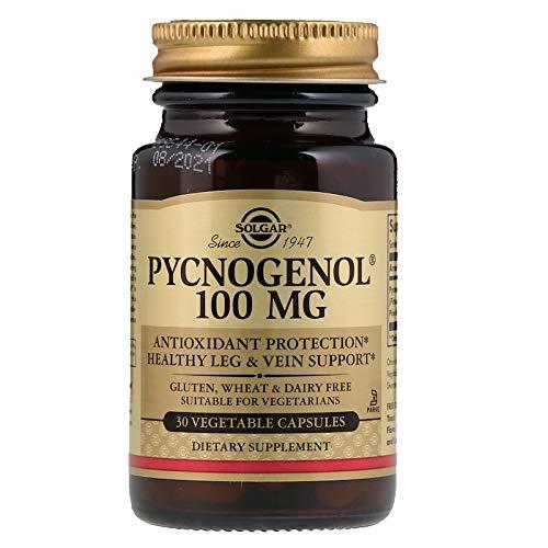 - Solgar - Pycnogenol 100 mg, 30 Vegetable Capsules