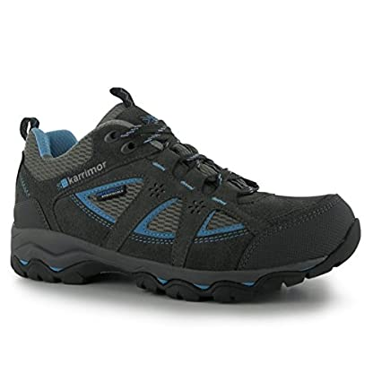 Karrimor Womens Mount Low Walking Shoes Waterproof Lace Up 1