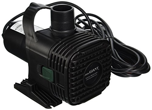 Little Giant F20-2700 566725 Wet Rotor Pond Pump with 20-Feet Cord, 2700GPH by Little Giant