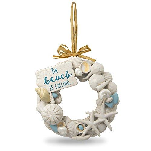 (Hallmark Keepsake Christmas Ornament 2018 Year Dated, Seashells A Day at the Beach)