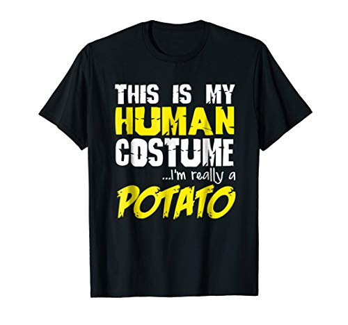 FUNNY IM REALLY A POTATO T-SHIRT Halloween
