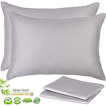 Amazon Com Lyocell Bamboo Pillow Cases Set Of 2