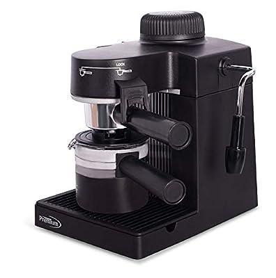 Premium Espresso & Cappuccino Maker PEM350, Black