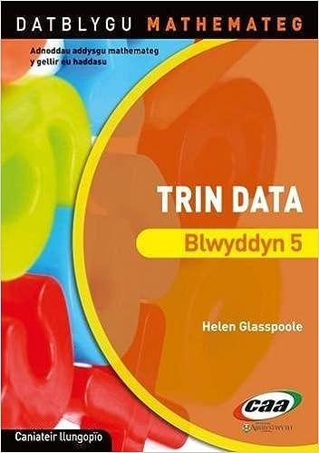 Book Datblygu Mathemateg: Trin Data Blwyddyn 5 by Helen Glasspoole (2011-08-26)