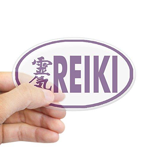 CafePress Reiki Oval Sticker Oval Bumper Sticker, Euro Oval Car Decal