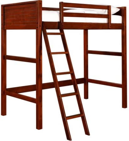 home, kitchen, furniture, bedroom furniture, beds, frames, bases,  beds 7 discount Your Zone Twin Wood Loft Style Bunk Bed in USA