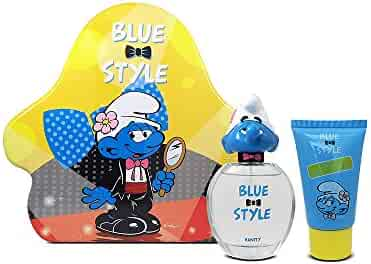 First American Brands Smurfs 3D Vanity Perfume for Children, 1.7 Ounce and Shower Gel, 2.5 Fl. oz.
