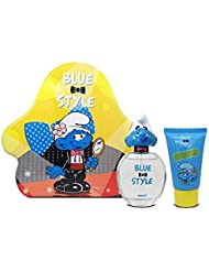 First American Brands Smurfs 3D Vanity Perfume for Children, 1.7 Ounce and Shower Gel , 2.5 Fl. oz.