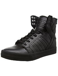 Supra Skytop Skate Shoe, Black/White, 10 Regular US