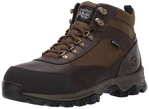 Timberland PRO Men's Keele Ridge Steel Toe Waterproof Industrial Boot, Brown, 10 M US ()