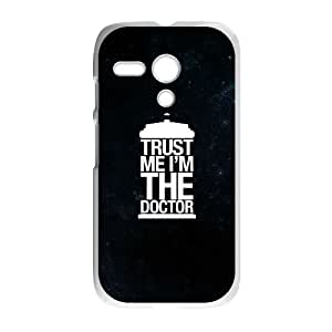 Motorola G Cell Phone Case White Doctor Who zgno
