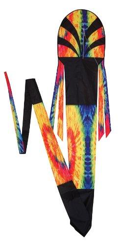 In the Breeze Tie Dye Dragon Kite, 20-Feet
