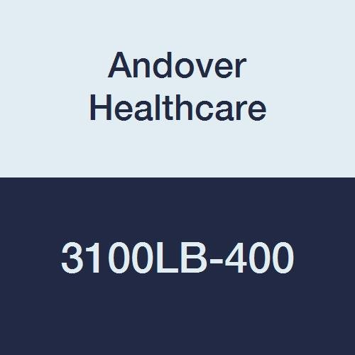 Image of Adhesive Bandages Andover Healthcare 3100LB-400 Coflex Non-Woven Cohesive Self-Adherent Wrap, 15' Length, 1' Width, Light Blue, Latex Bulk (Pack of 400)