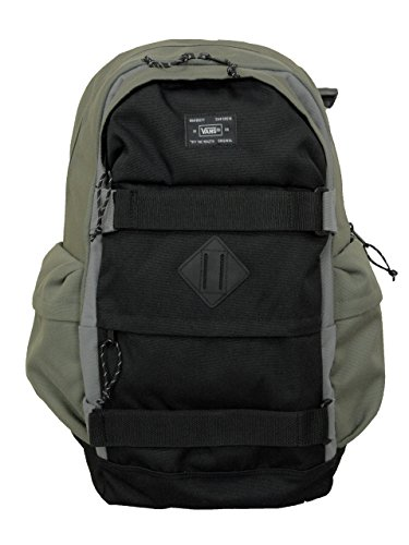 Vans 2016 Carry Jetter SkatePack Mens Black/Green Backpack