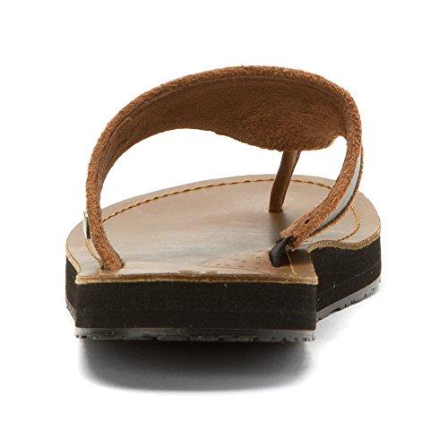 Acorn Artwalk Flip Läder Kvinna Sandal Svart