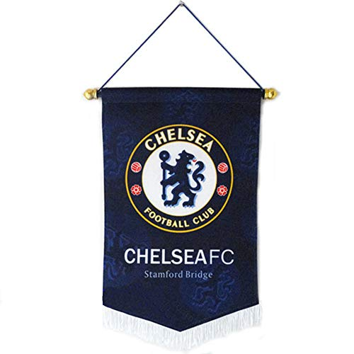 ZQfans Chelsea FC Indoor and Outdoor Flags Bar/Club/Bedroom Decoration Hanging Flags ()