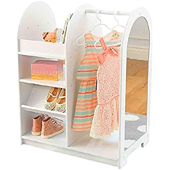Amazon Com Bs Dress Up Storage For Little Girls Kids
