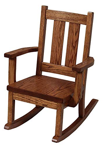 Superior Woodcrafts Amish Aspen Delta Kids' Rocking Chair