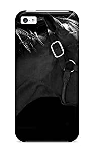Faddish Phone Horse Background Case For Iphone 5c / Perfect Case Cover