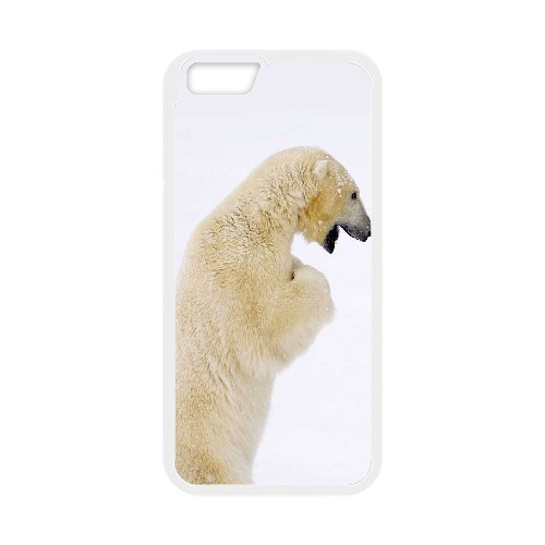 "LP-LG Phone Case Of Polar Bear For iPhone 6 Plus (5.5"") [Pattern-5]"