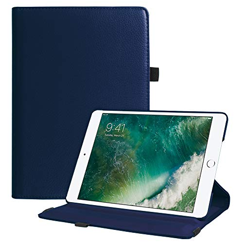 Fintie iPad 9.7 2018 2017 / iPad Air 2 / iPad Air Case - Multiple Angles Stand Smart Protective Cover with Auto Sleep Wake for iPad 9.7 inch (6th Gen, 5th Gen) / iPad Air 2 / iPad Air, Navy