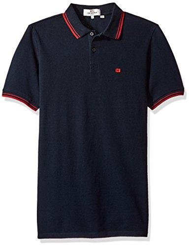 Ben Sherman Men's Romford Polo Shirt, Staples Navy, Medium