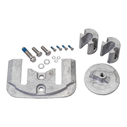 Quicksilver 888761Q03 Aluminum Anode Kit - MerCruiser Bravo II and III - Drive Bravo