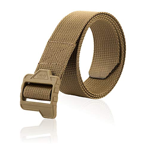 - M-Tac Lite Tactical Belt Military Army EDC Plastic Buckle (Coyote, M)