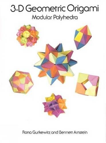 3-D Geometric Origami: Modular Polyhedra ()