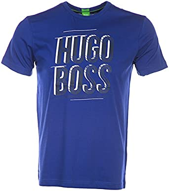 Hugo Boss - Camiseta - para hombre morado morado M: Amazon.es: Ropa y accesorios