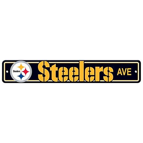 Fremont Die Street Sign - NFL Football - Pittsburgh Steelers Steelers Ave