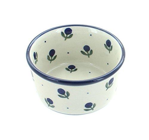 Polish Pottery Blueberry Small Ramekin