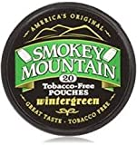 Smokey Mountain Snuff Wintergreen Pouch 5 cans - no Tobacco - no Nicotine
