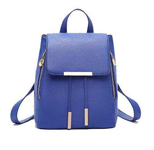 Noir Mode pour portable Bleu Sacs VogueZone009 Foncé Femme Voyage ordinateur Zippers Nylon RwZz6Hx