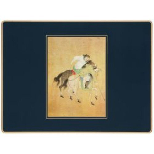 Lady Clare Placemats - Ming Polo - Set of 4 Continental Mats by Lady Clare Placemats