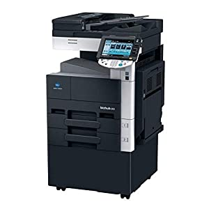 Konica Minolta BizHub 363 Monochrome Laser Multifunction Printer – 36ppm, Copy, Print, Scan, Internet Fax, 2 Trays (Renewed)