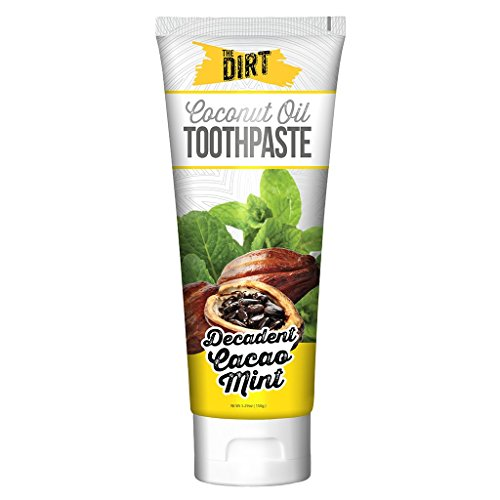 (The Dirt All Natural Coconut Oil Remineralizing Toothpaste - Cacao Mint - 150 Gram)