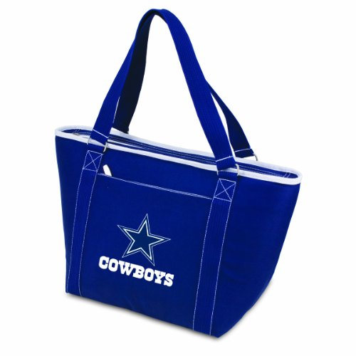 (NFL Dallas Cowboys Topanga Insulated Cooler Tote, Navy)