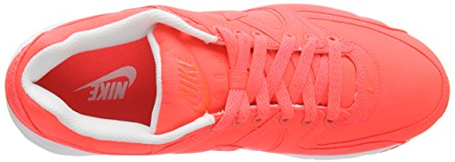 Nike Air Max Command TXT, Women's Running Shoes Orange - Orange (Hot Lava/Hot Lava-white 881)
