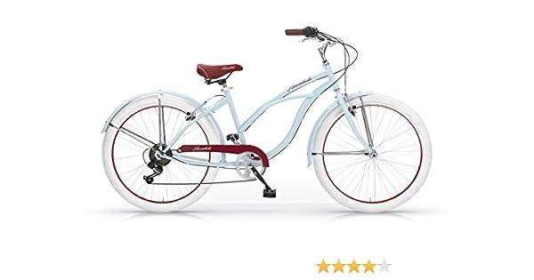 MBM Honolulu Bicicleta para mujer, 45 cm, color azul: Amazon.es: Deportes y aire libre