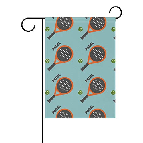 Amazon.com : Jojogood Padel Tennis Garden Flag 28