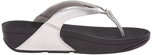 Fitflop Sandalias De Dedo Swirl All Black Pewter