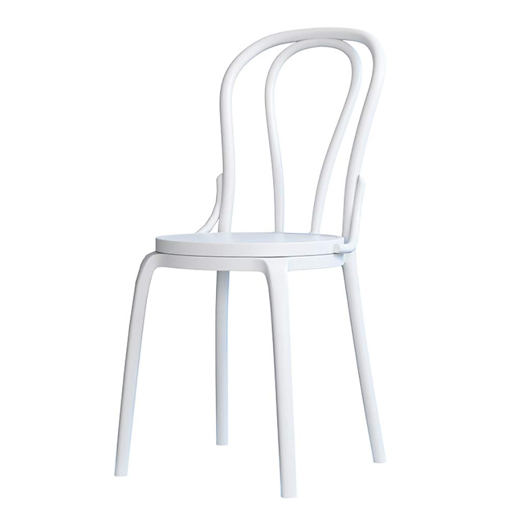 C Chair Adult backrest Solid Wood Dining Chair Modern Minimalist Casual Soft Bag Home (color   B)