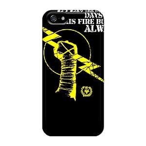 Iphone 5/5s Case Bumper Tpu Skin Cover For Cm Punk Accessories